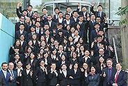 Bild: 130 junge Chinesen neu an der FOM in Essen
