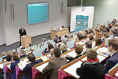 Bild: 250 Teilnehmer bei Essener Gesundheitsforum