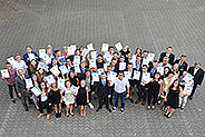 Bild: 50 Neusser Schüler sind jetzt Junior-Manager