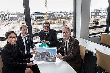 Bild: Baubeginn für neues Dortmunder FOM-Hochschulzentrum