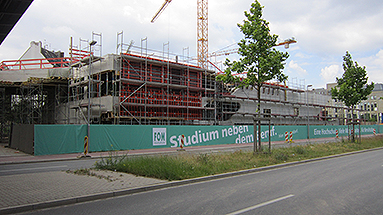 Bild: Die Story: FOM Neubau Düsseldorf kommt gut voran