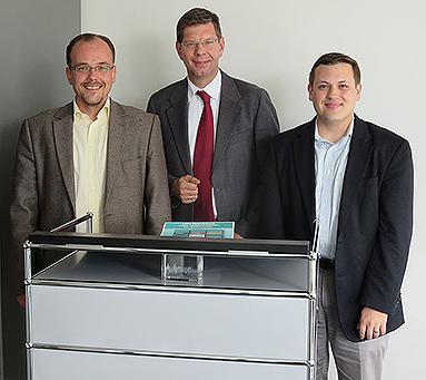 Bild: Dozenten aus Krakau und Pittsburgh zu Gast an der FOM