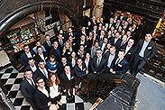 Bild: FOM Alumni trafen sich auf Schloss Hugenpoet