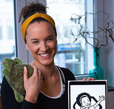 Bild: FOM Studentin eröffnet Motopädie-Zentrum