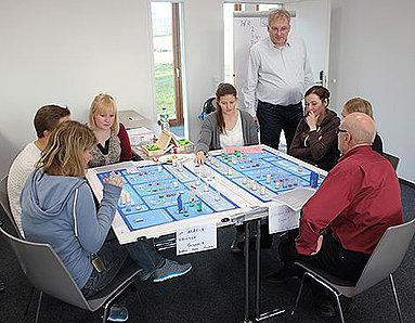 Bild: FOM Studierende aus Münster waren Geschäftsführer für einen Tag