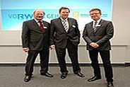 Bild: FOM Vertreter bei RWE Hochschultag Energie und Bildung