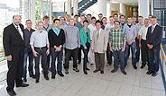 Bild: FOM begrüßte erstmalig Master-Studierende im Ingenieurbereich