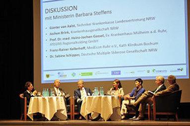 Bild: FOM beim 5. Klinikkongress Ruhr