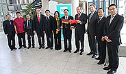 Bild: FOM empfängt Delegation der Shenyang University