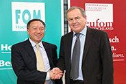Bild: FOM führt Gespräche mit renommierter Uni in China