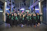Bild: FOM in Leipzig feiert Absolventen