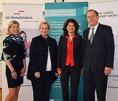 Bild: FOM und DFK unterstützen Führungskräfte gemeinsam