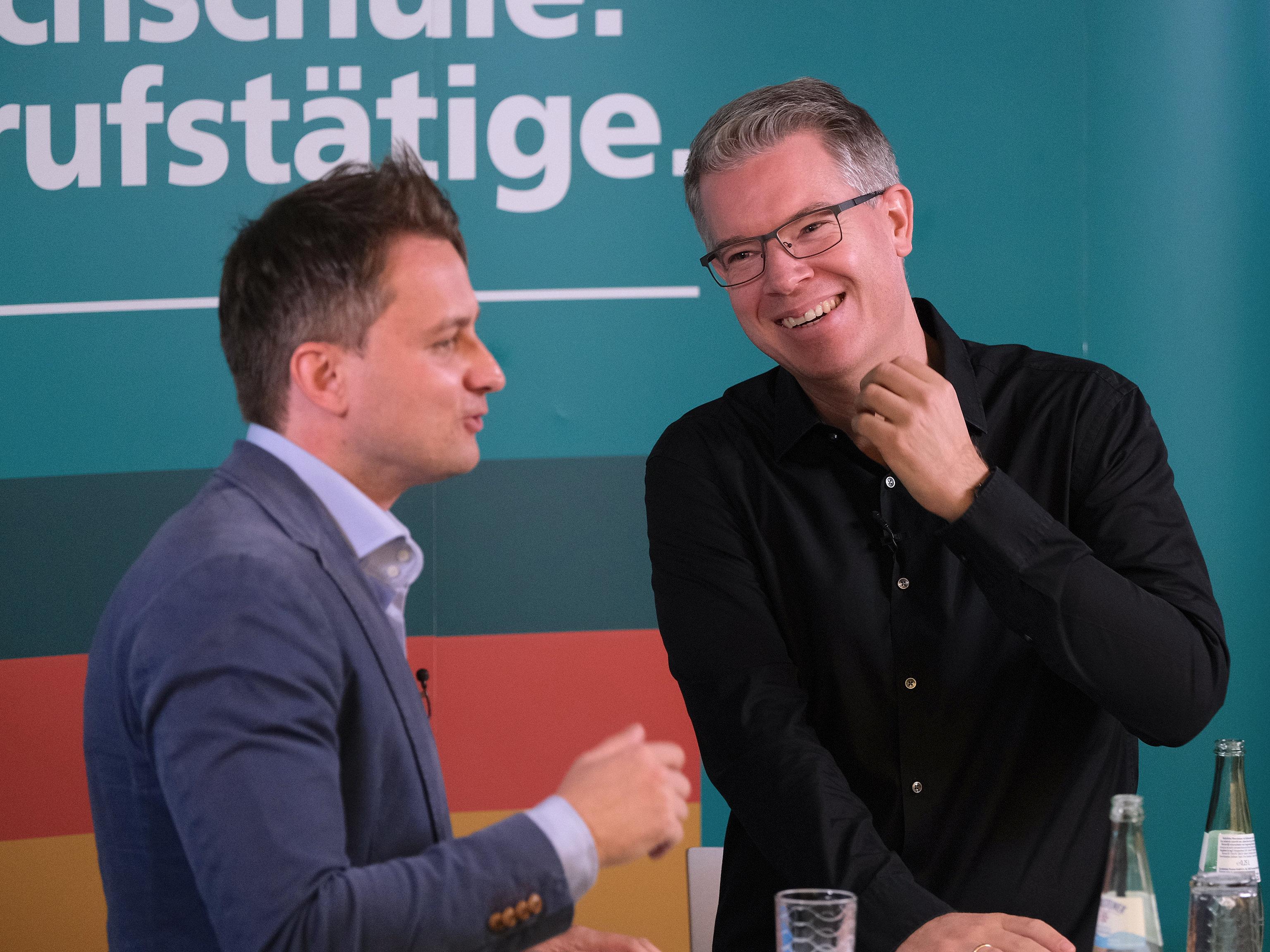 Bild: Frank Thelen an der FOM in Bonn