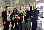 Bild: Kölner FOM gratuliert erfolgreichen Universiade-Sportlern
