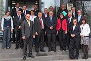 Bild: Prof. Dr. Heinemann im Vorstand der Kölner Wissenschaftsrunde