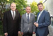Bild: Uni Banja Luca besucht FOM