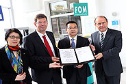 Bild: Weitere China-Kooperation der FOM Hochschule