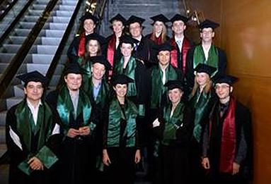 Bild: eufom Absolventen in Luxemburg verabschiedet