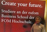 Bild: eufom Studentin entwickelt spanische Online-Kampagnen