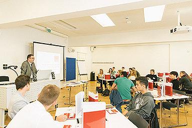 Bild: eufom-Studierende starten mit Orientierungswochen